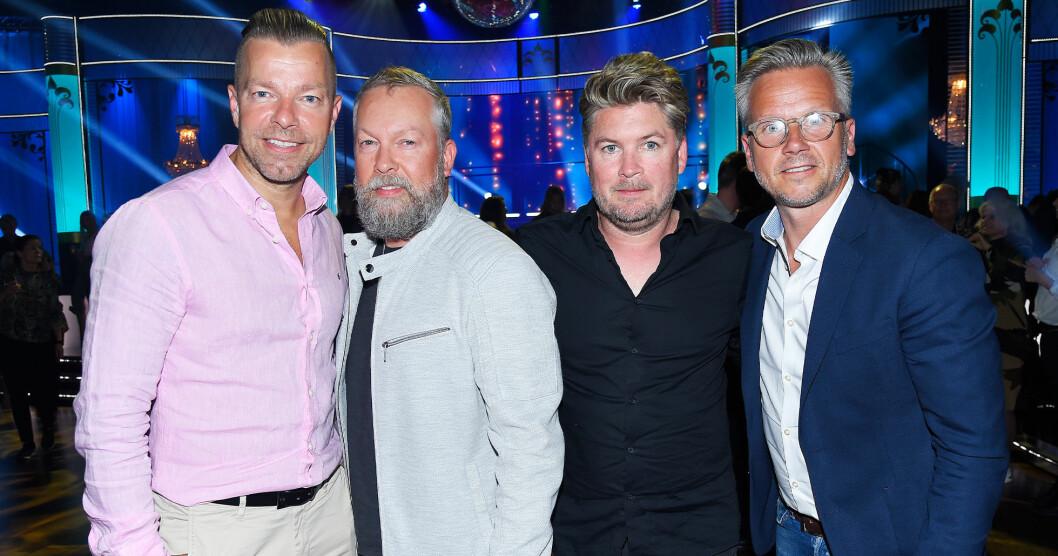 Arvingarna uppträder på Allsång på Skansen den 9 juli 2019.
