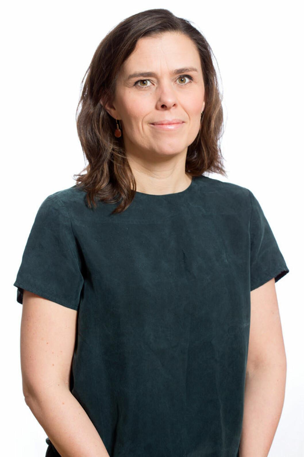 Åsa Persson, forskningschef på Stockholm Environment Institute