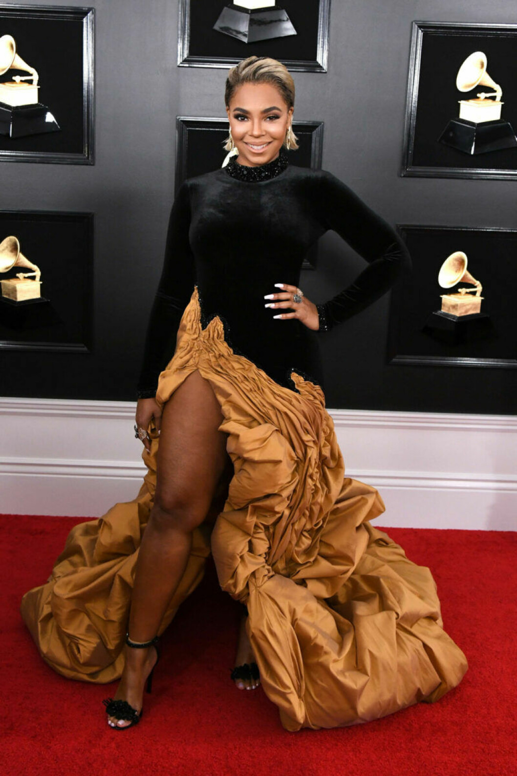 Ashanti på Grammy Awards 2019