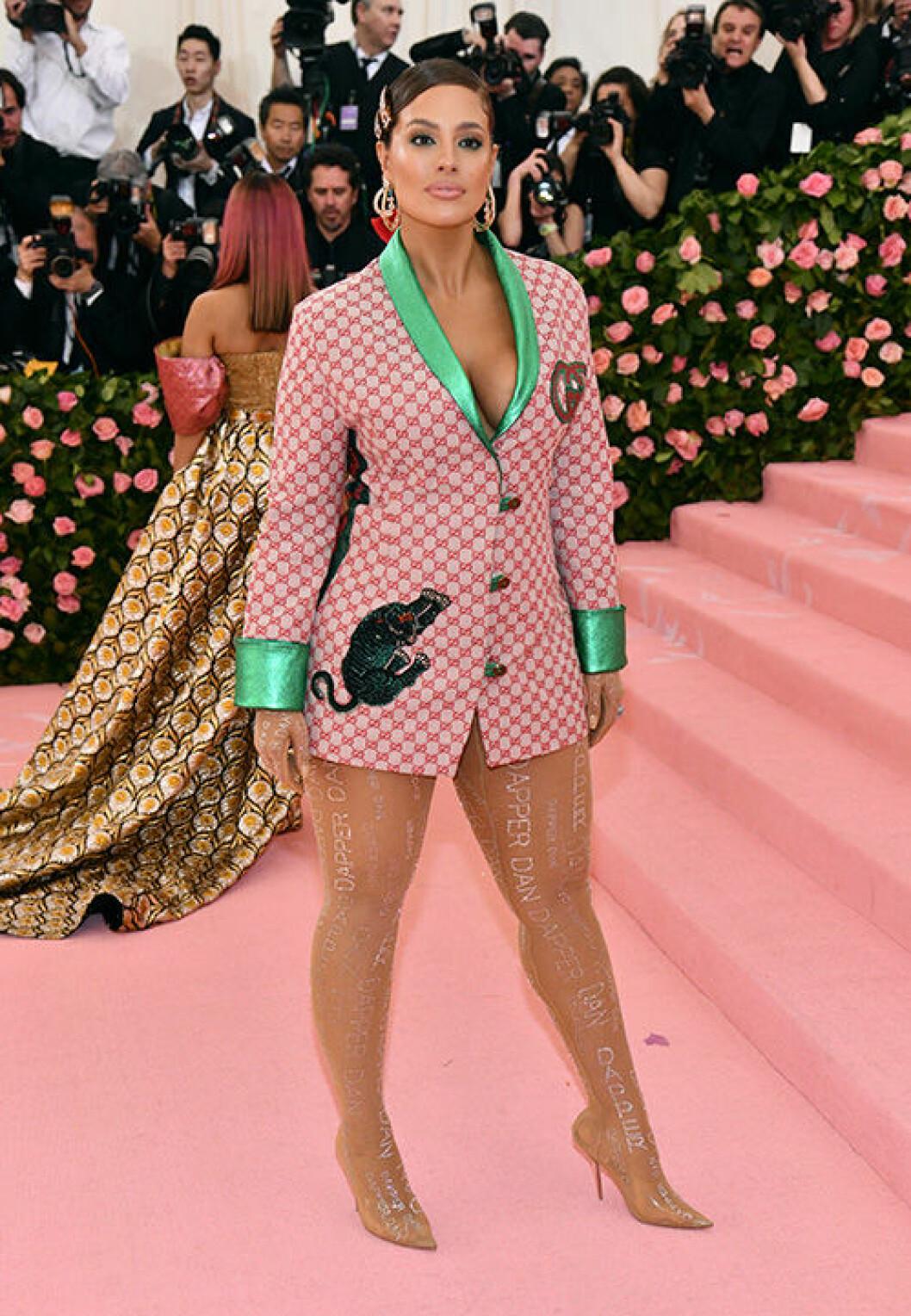 En bild på modellen Ashley Graham.