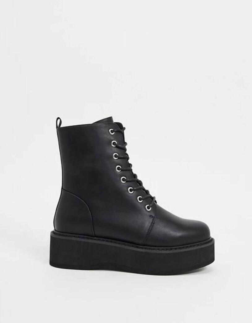 svarta boots asos