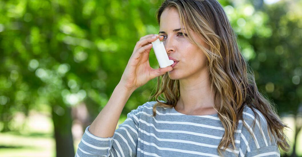 coronavirus astmatiker riskgrupp farligt