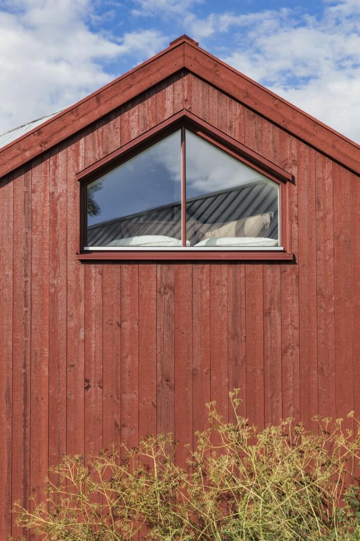 Attefallshus GAD Gotland gavelfönster