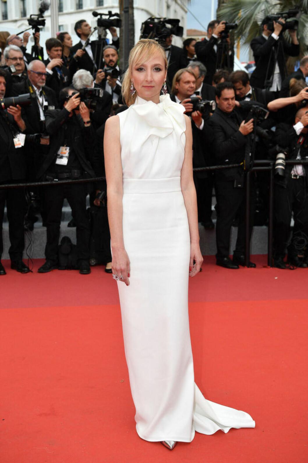 Audrey Lamy på filmfestivalen i Cannes 2019