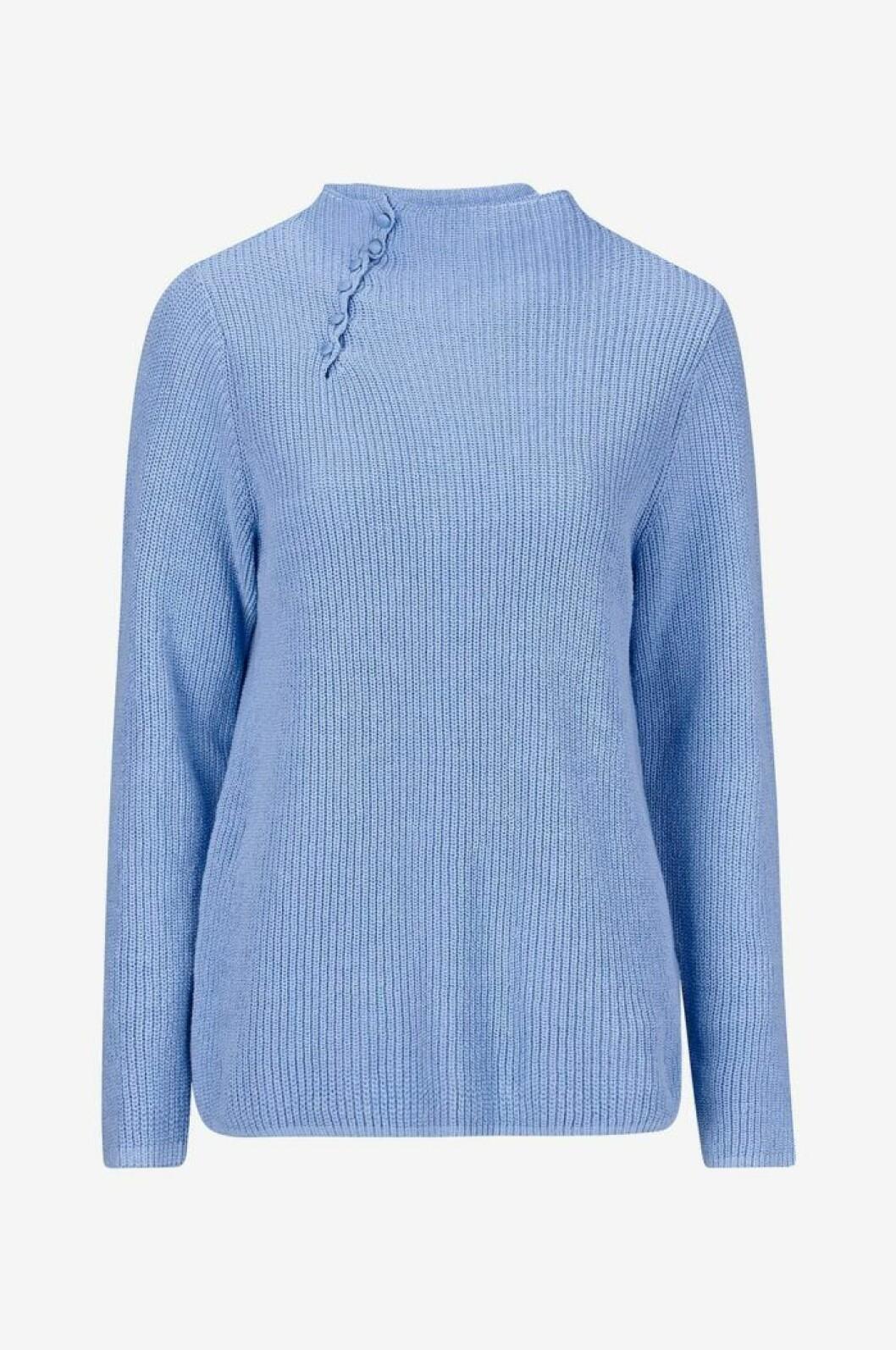 Ljusblå stickad tröja från Ellos, Jeanne Damas