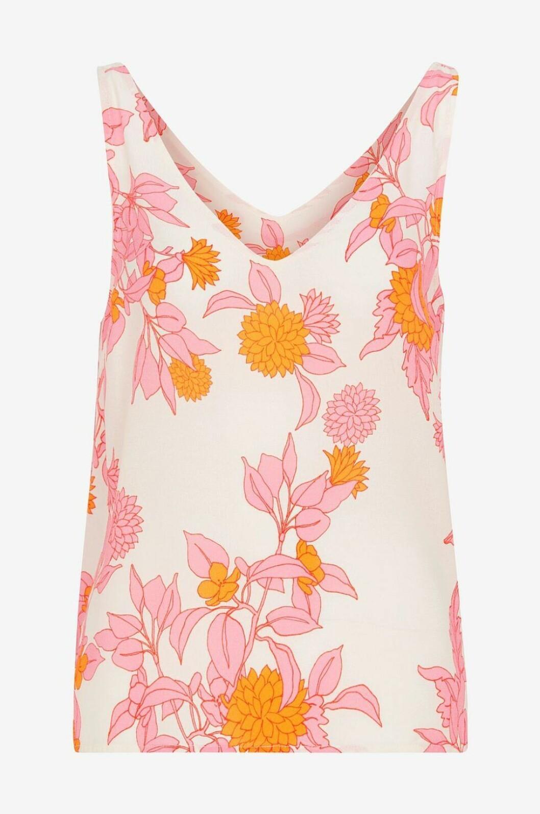 blommigt linne