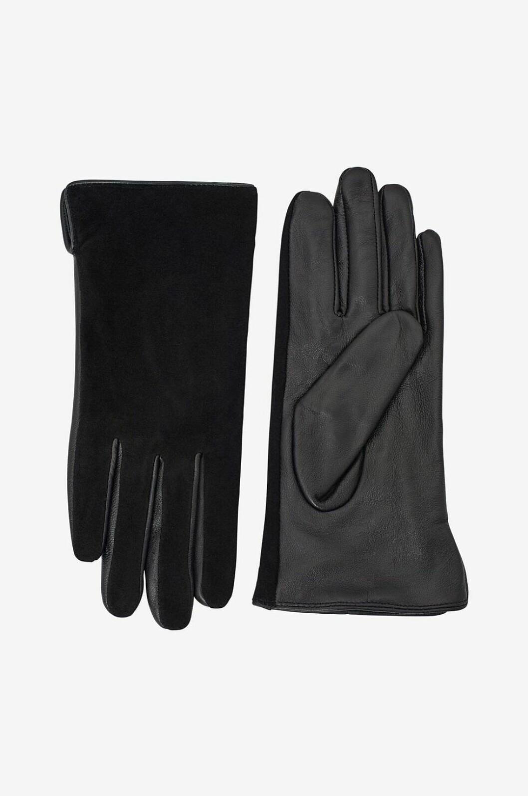 skinn mocka handskar