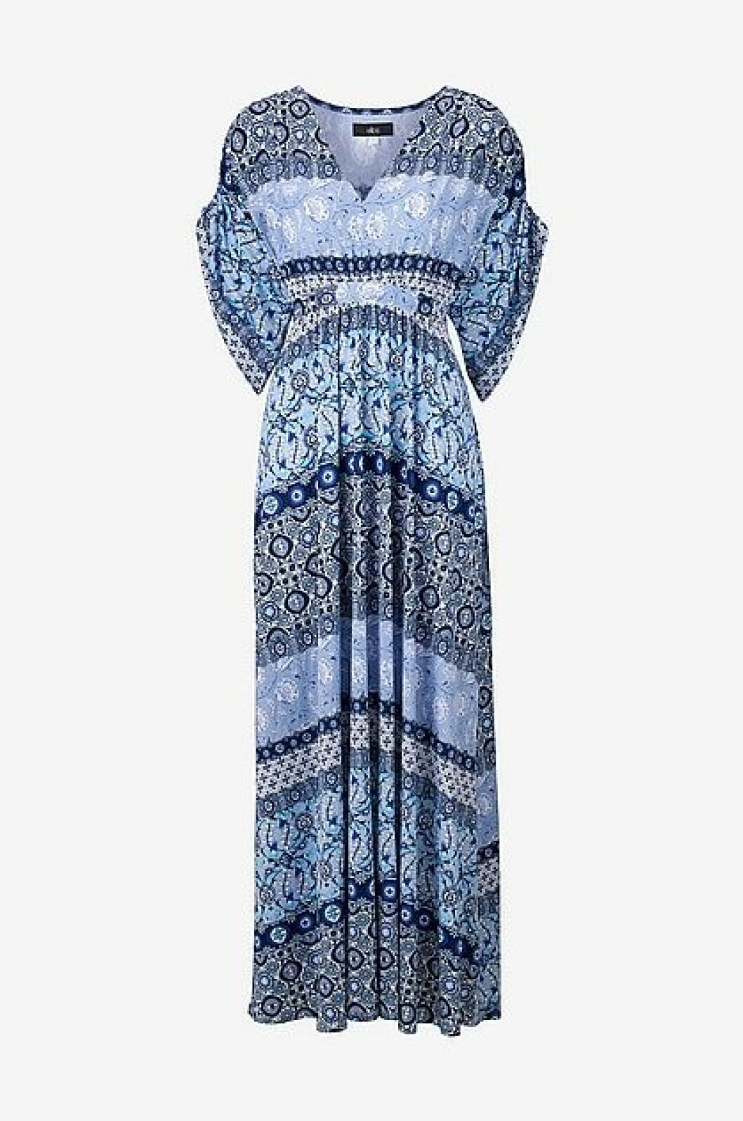 Blå maxiklänning från Ellos