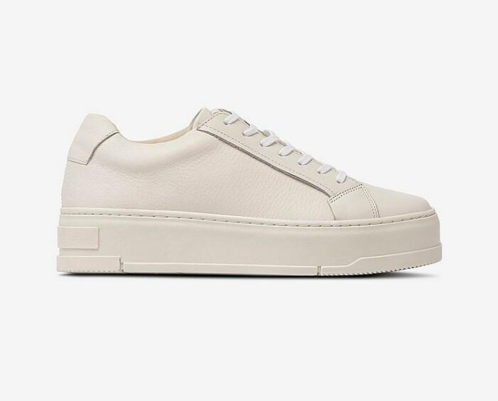 Benvit sneaker från Vagabond