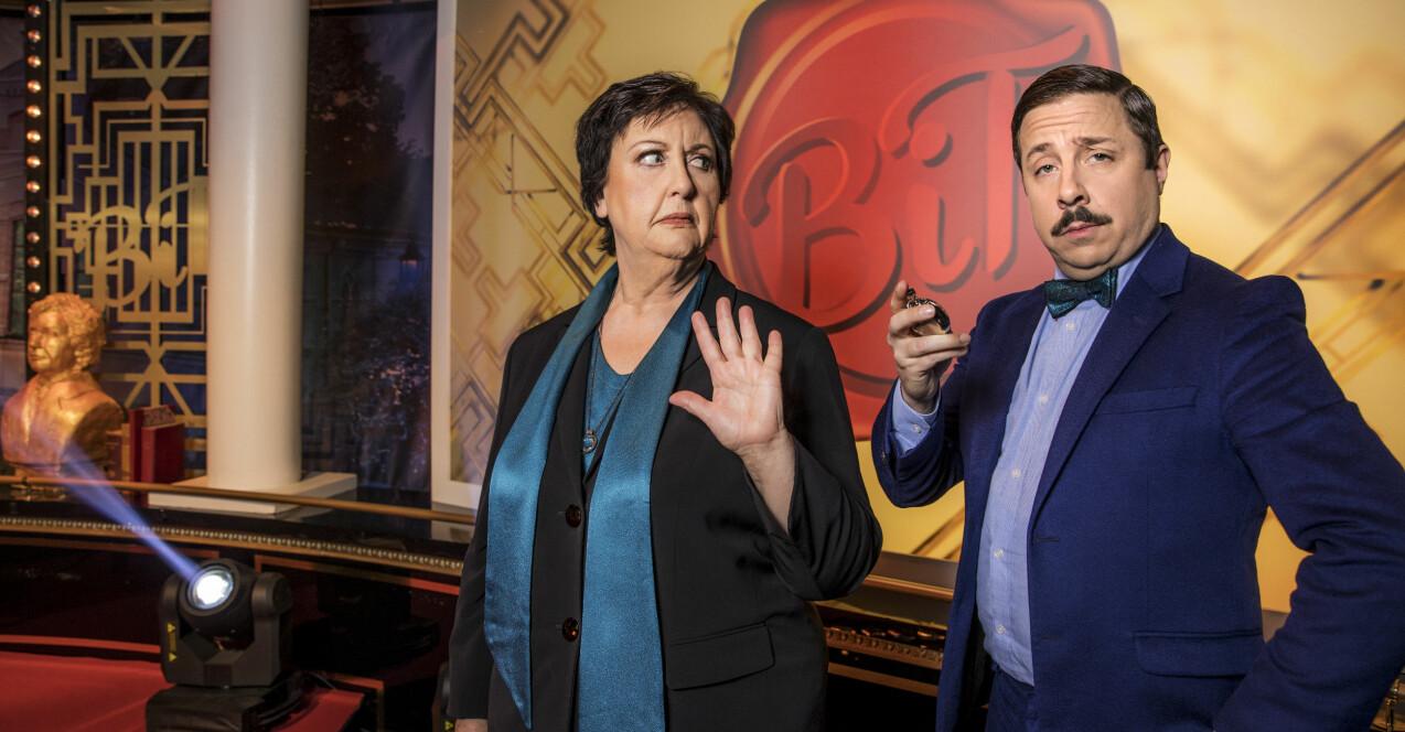 Babben Larsson och David Sundin i Bäst i test på SVT.