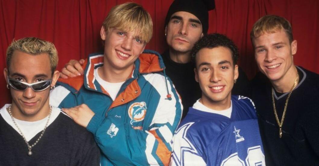 Backstreet Boys på 90-talet.