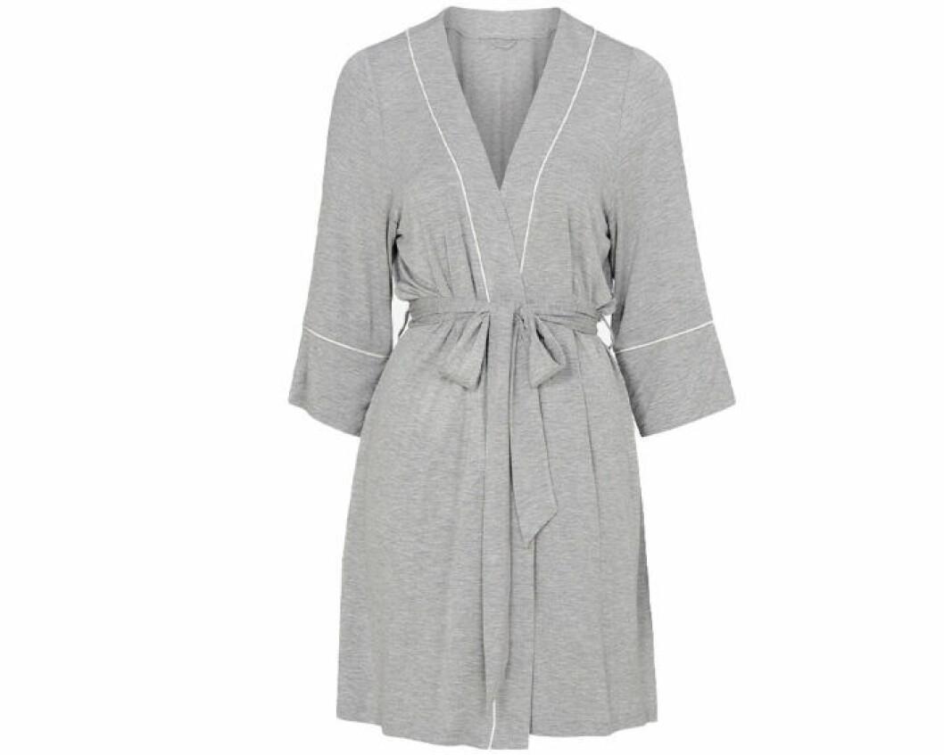 Grå badrock eller morgonrock