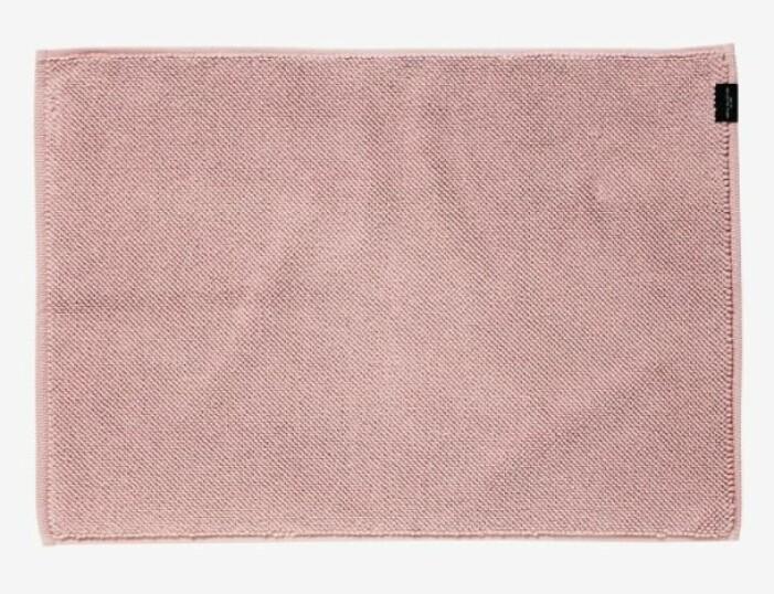 rosa badrumsmatta hemtex