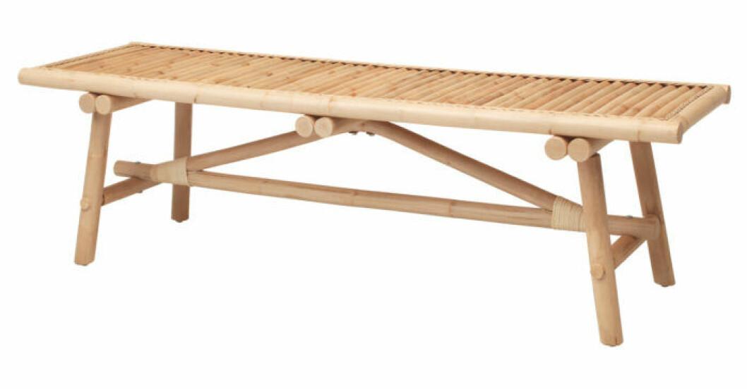Bänk från Ikeas kollektion Tänkvärd