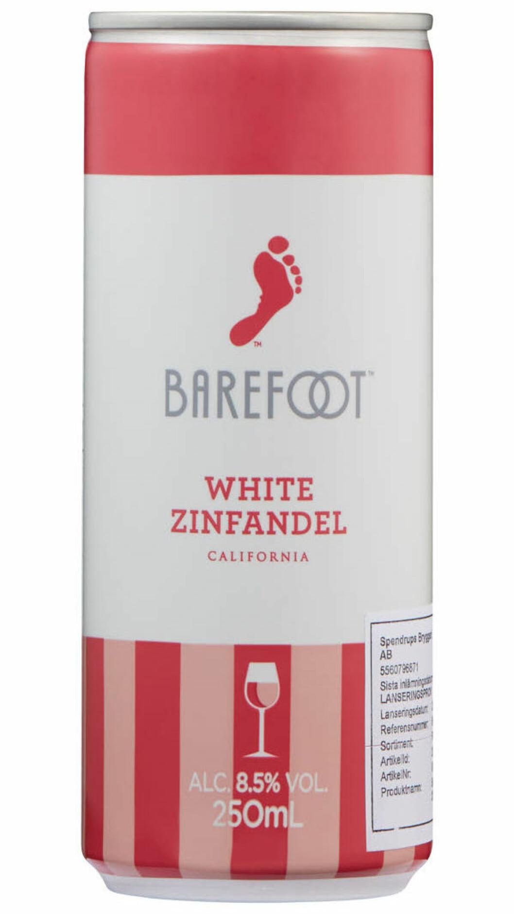 barefoot white zinfandel
