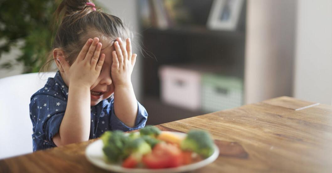 Här är rätta upplägget för att få barnen att äta!