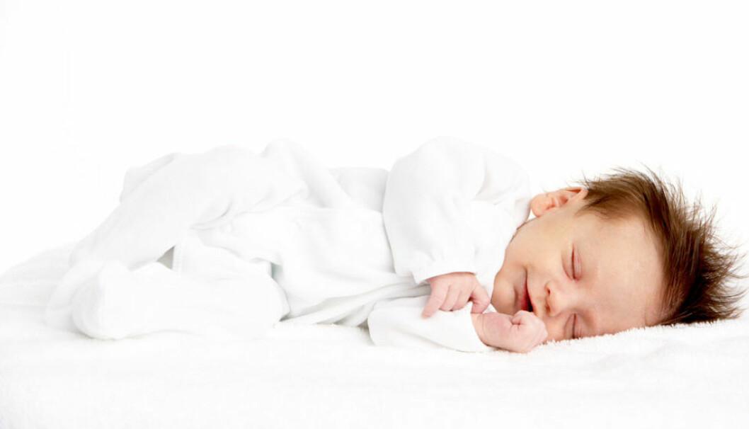 Sömbehov hos barn i olika åldrar