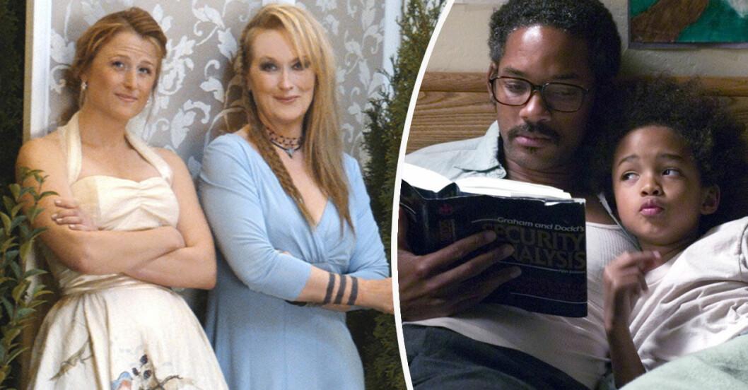 Meryl Streep och Mamie Gummer, Will och Jaden Smith