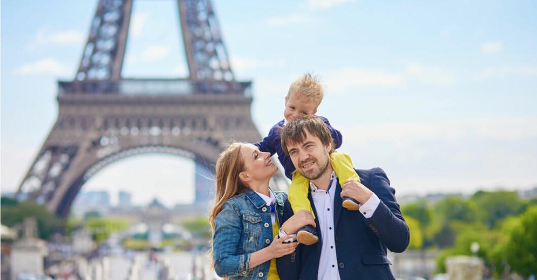 Barnvänliga hotell nära Disneyland i Paris