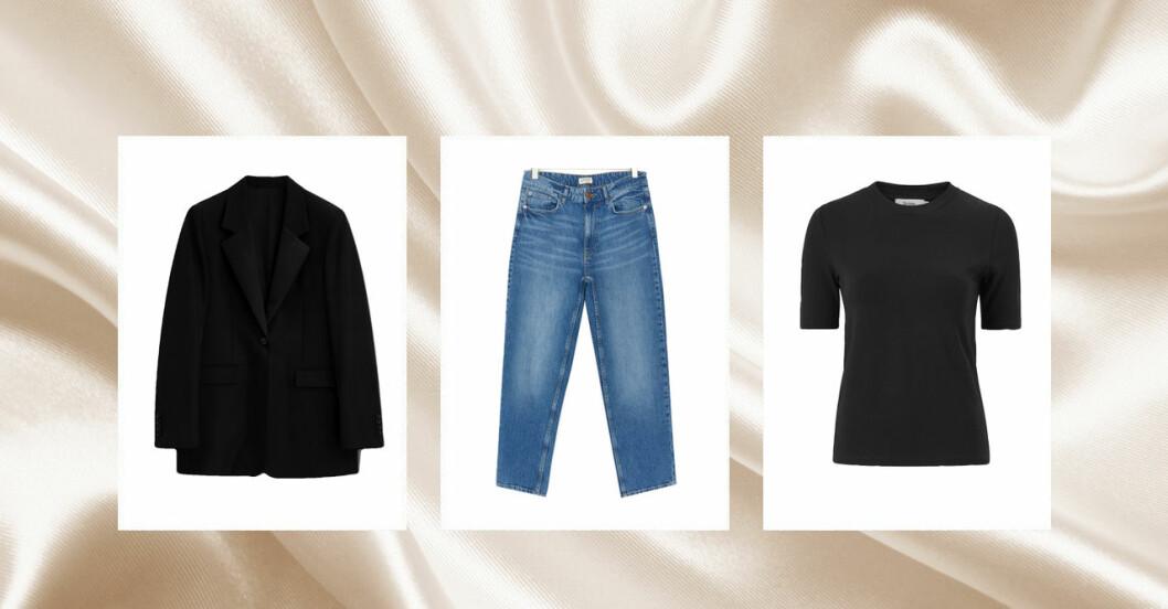 Kläderna du behöver i en basgarderob