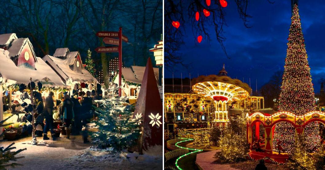 Jul på Tivoli