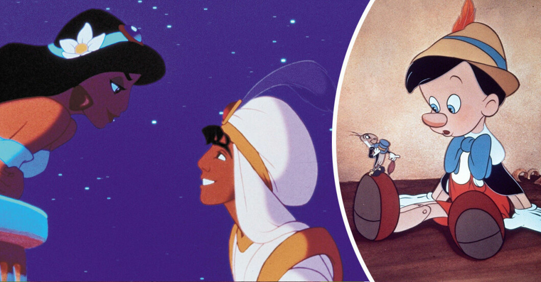 Aladdin och Pinocchio