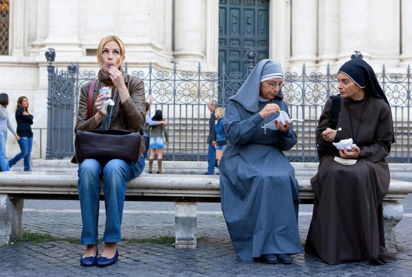 Julia Roberts i filmen Eat, pray, love