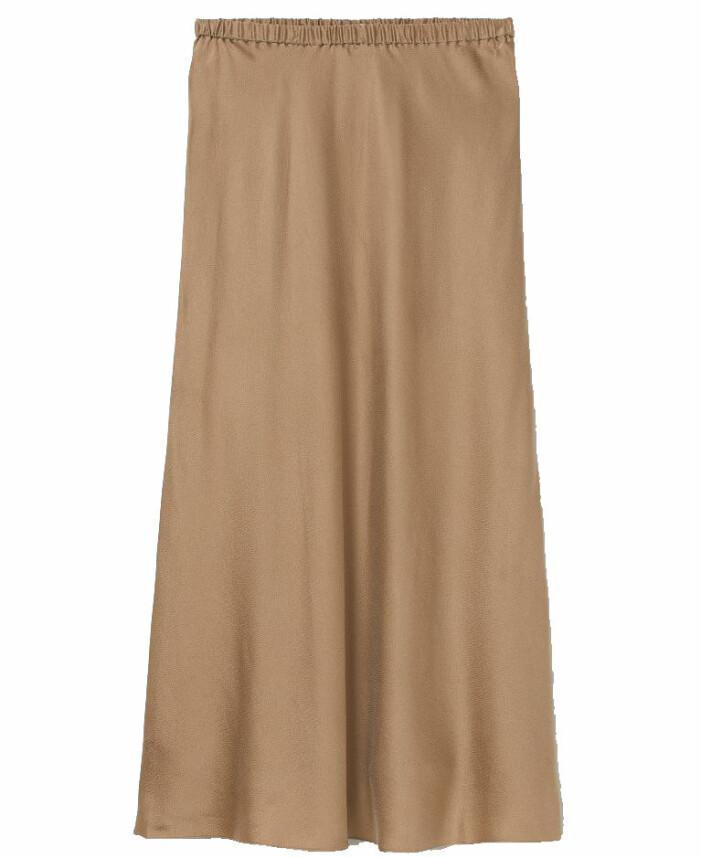 beige kjol