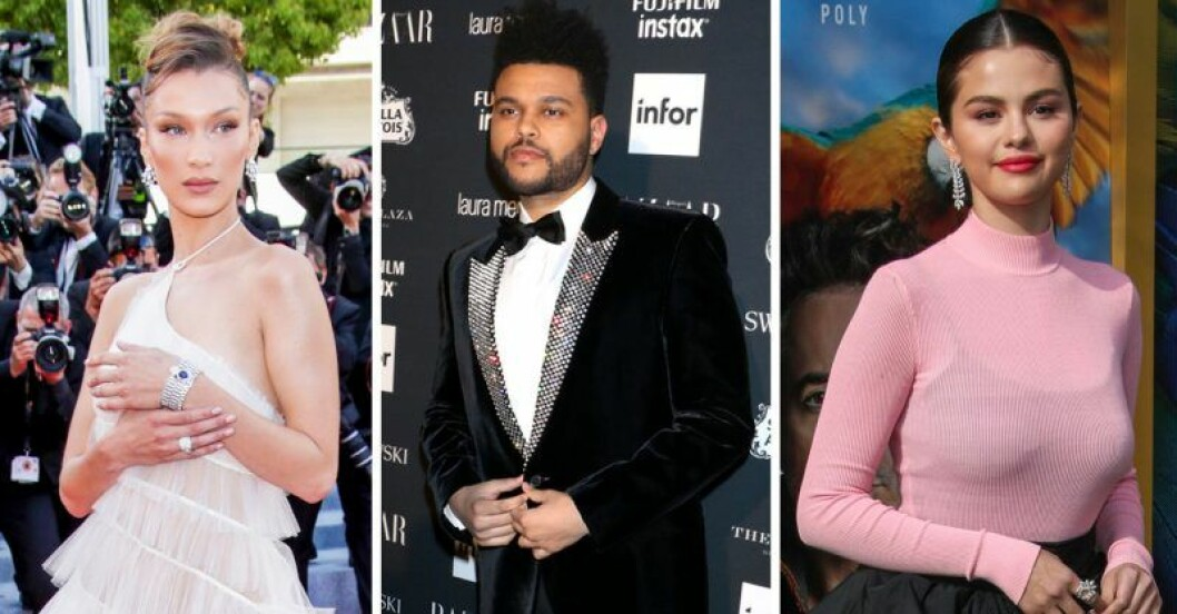 Bella Hadid, The Weeknd, Selena Gomez