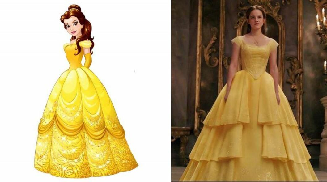 Emma Watson spelar Belle