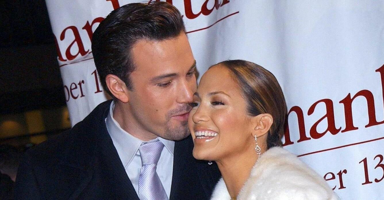 Ben Affleck och Jennifer Lopez myser på röda mattan