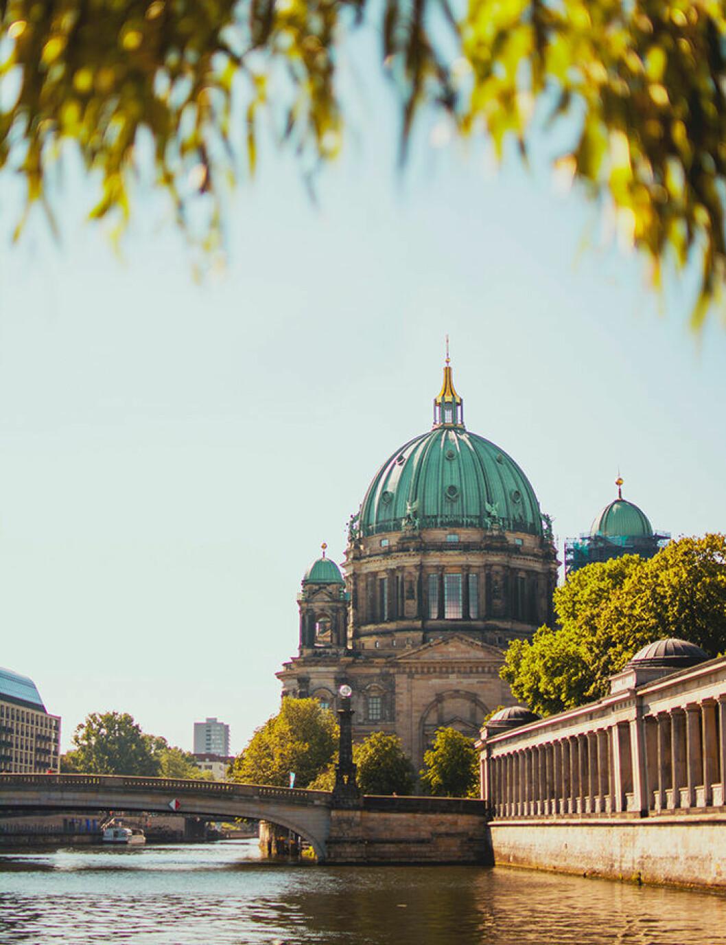 Res till Berlin och Tyskland med tåg