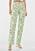 Jeans med zebramönster i grönt och vitt. Raka jeans från Bershka.