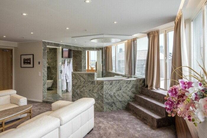 Dag Hammarskölds svit på Hotel Fridhemsplan
