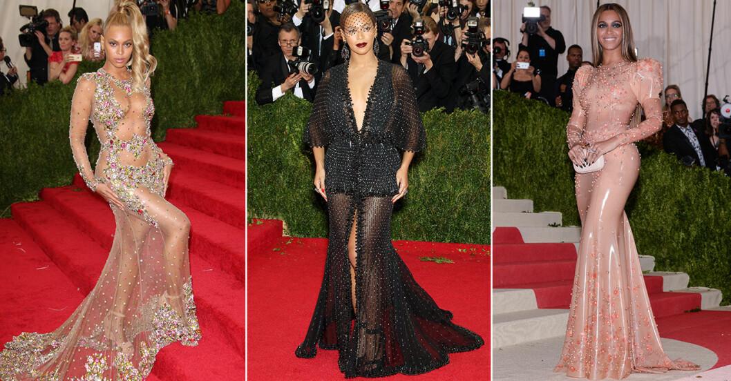 Beyoncé på röda mattan