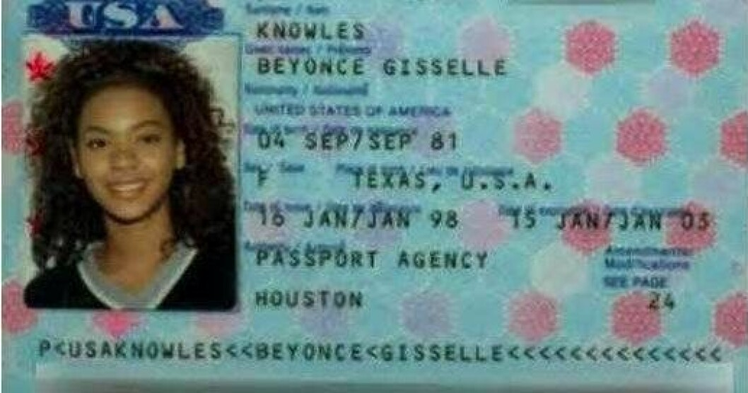 beyonce knowles pass