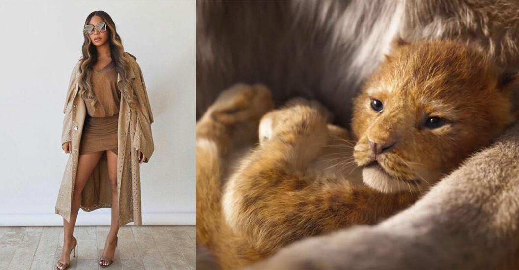 Beyonce som Nala i Lejonkungen