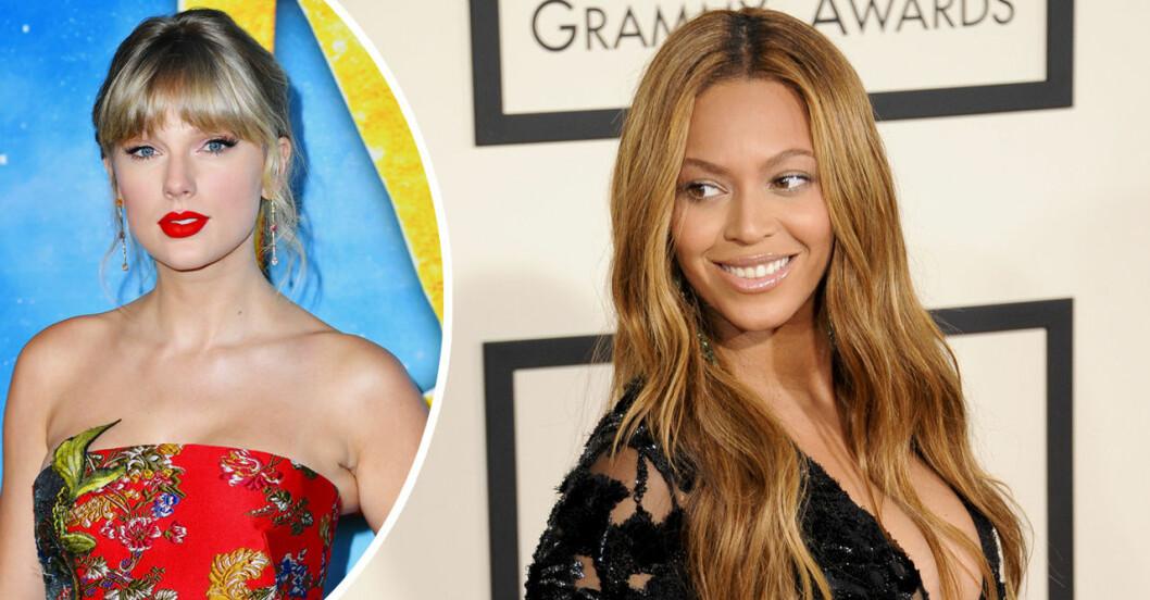 Beyoncé och Taylor Swift