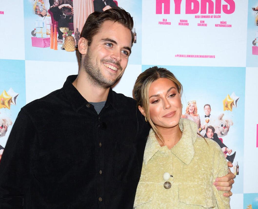 En bild på influencern och tv-profilen Bianca Ingrosso och pojkvännen Phillipe Cohen.