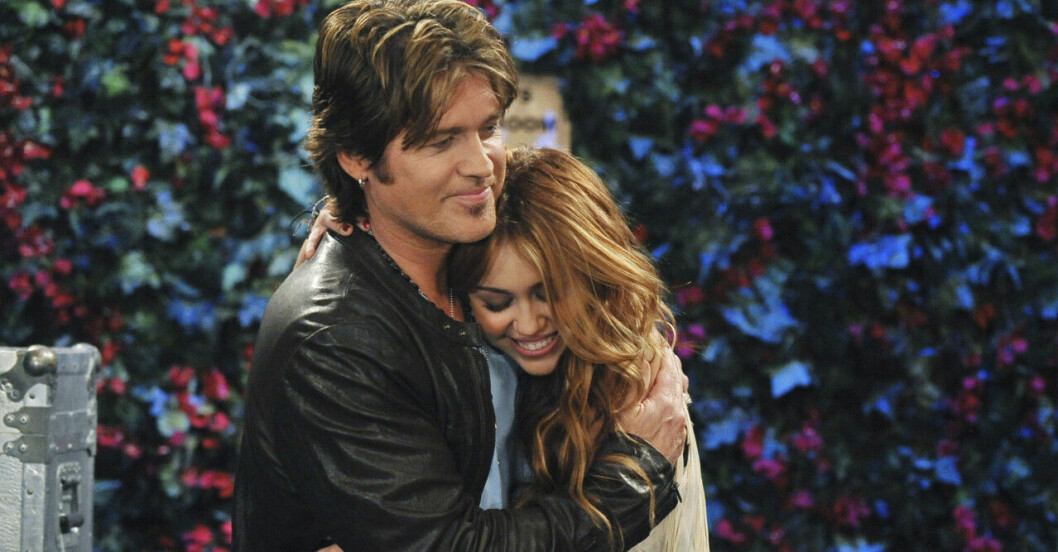 Billy Ray och Miley Cyrus