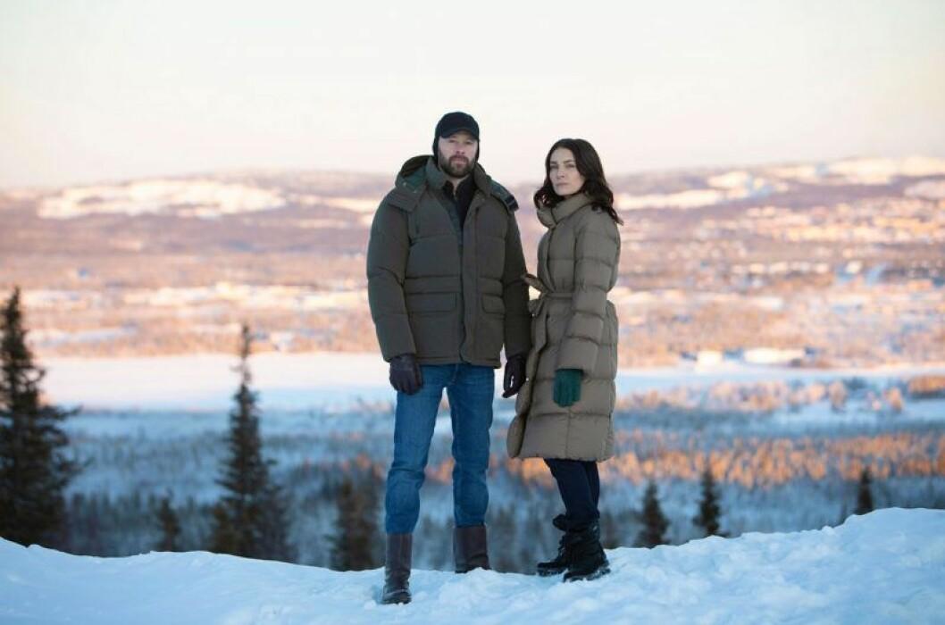Huvudrollsinnehavarna i Björnstad, fjäll