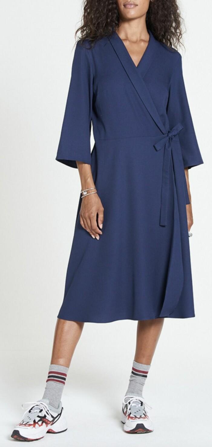 Blå klänning Jascha Stockholm