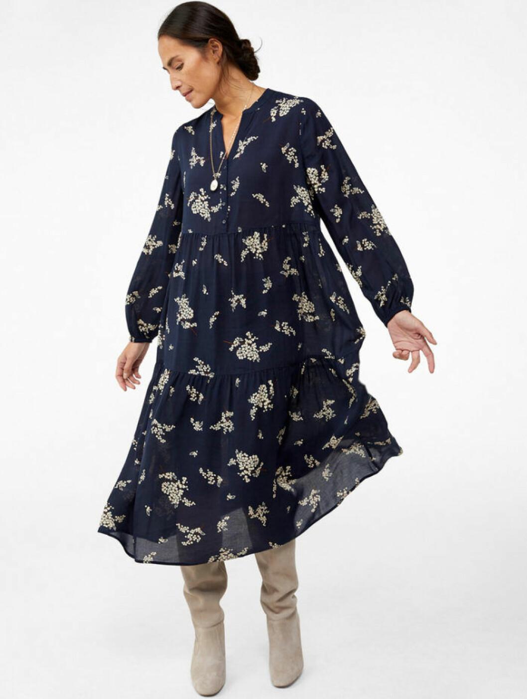 Blå klänning från KappAhl