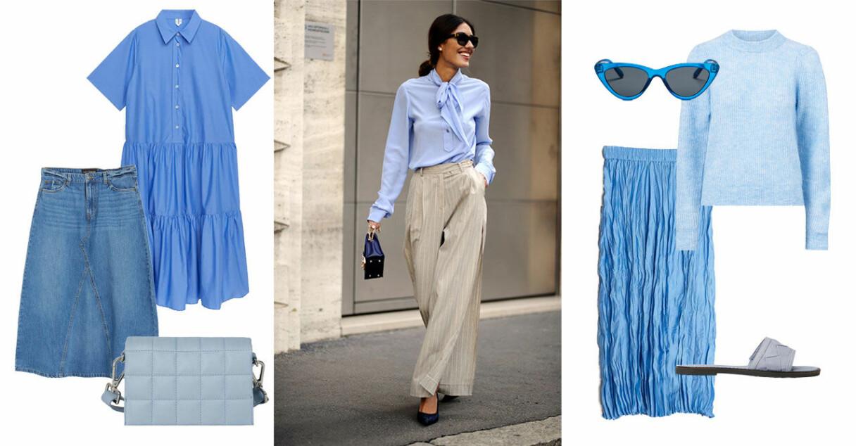 Blå mode sommar 2021