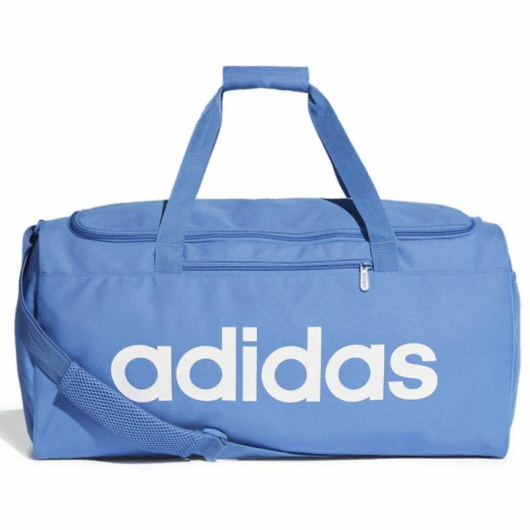 Blå träningsväska från Adidas