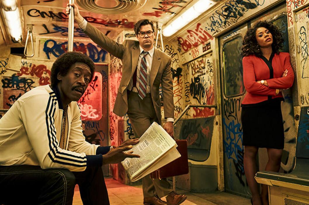 En bild från tv-serien Black Monday, som har premiär på HBO den 16 mars.