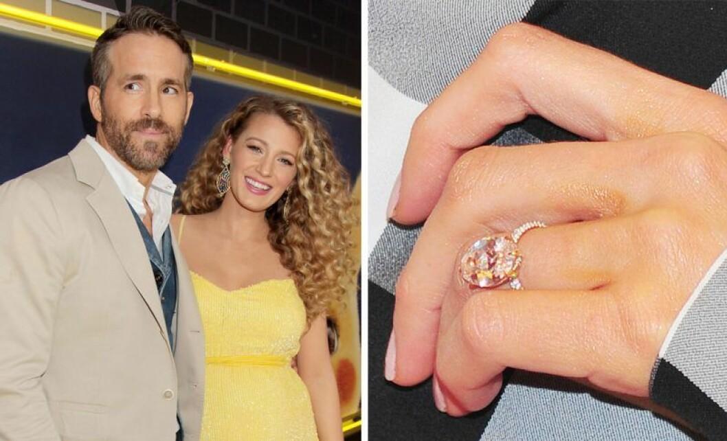 Blake Lively och Ryan Reynolds förlovade