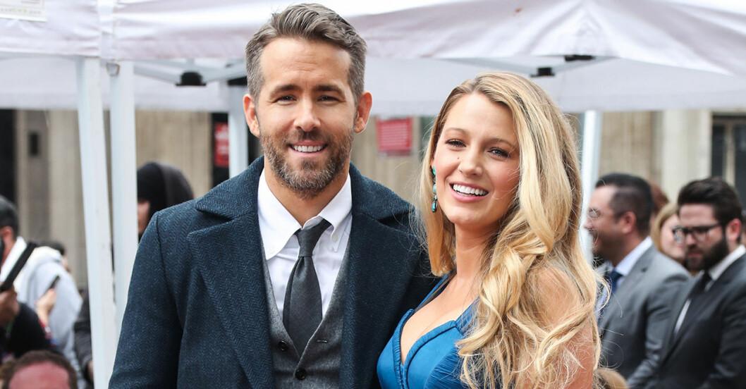 Blake Lively och Ryan Reynolds dotter