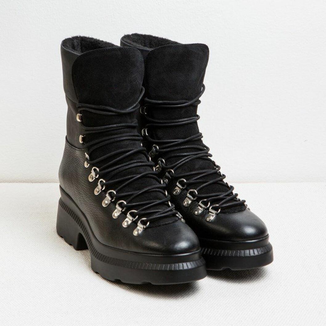 Blankens boots svarta