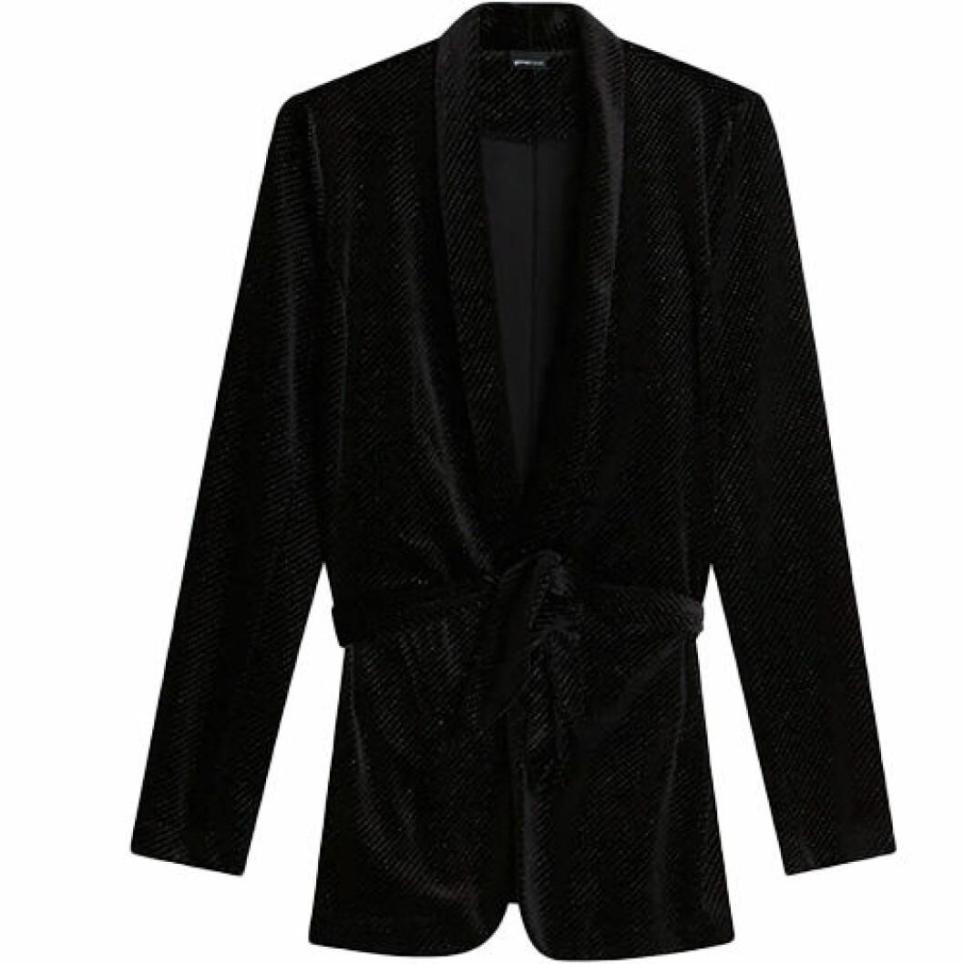 Svart glittrig blazer